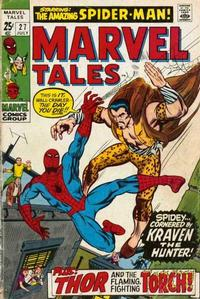 Cover Thumbnail for Marvel Tales (Marvel, 1966 series) #27