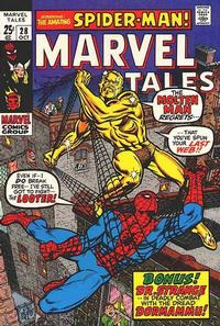 Cover Thumbnail for Marvel Tales (Marvel, 1966 series) #28