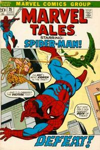 Cover Thumbnail for Marvel Tales (Marvel, 1966 series) #35