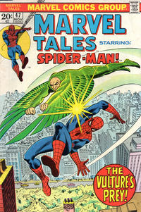 Cover Thumbnail for Marvel Tales (Marvel, 1966 series) #47