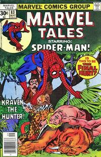 Cover Thumbnail for Marvel Tales (Marvel, 1966 series) #83 [30 cent cover price]