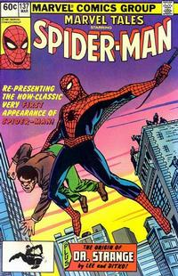 Cover Thumbnail for Marvel Tales (Marvel, 1966 series) #137
