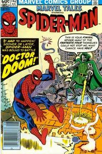 Cover Thumbnail for Marvel Tales (Marvel, 1966 series) #142 [Newsstand Edition]