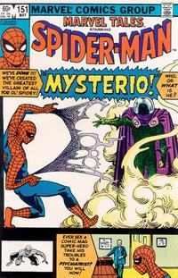 Cover Thumbnail for Marvel Tales (Marvel, 1966 series) #151 [Direct]