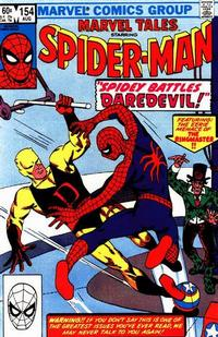 Cover Thumbnail for Marvel Tales (Marvel, 1966 series) #154 [Direct]