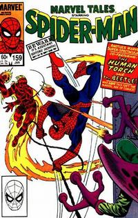 Cover Thumbnail for Marvel Tales (Marvel, 1966 series) #159