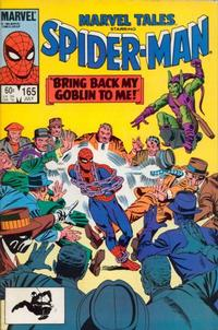 Cover Thumbnail for Marvel Tales (Marvel, 1966 series) #165 [Direct Edition]