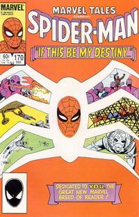 Cover Thumbnail for Marvel Tales (Marvel, 1966 series) #170 [Direct Edition]