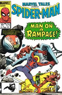 Cover Thumbnail for Marvel Tales (Marvel, 1966 series) #171