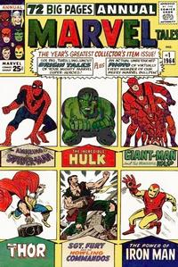 Cover Thumbnail for Marvel Tales Annual (Marvel, 1964 series) #1