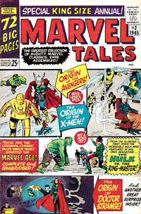 Cover Thumbnail for Marvel Tales Annual (Marvel, 1964 series) #2