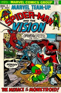 Cover Thumbnail for Marvel Team-Up (Marvel, 1972 series) #5