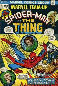 Cover Thumbnail for Marvel Team-Up (Marvel, 1972 series) #6