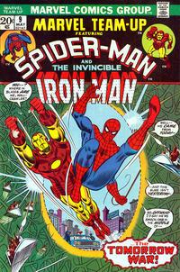 Cover Thumbnail for Marvel Team-Up (Marvel, 1972 series) #9