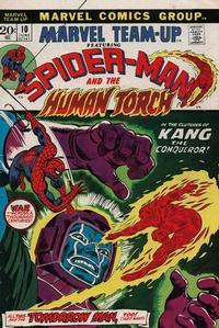 Cover Thumbnail for Marvel Team-Up (Marvel, 1972 series) #10