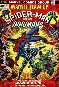 Cover Thumbnail for Marvel Team-Up (Marvel, 1972 series) #11