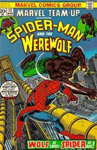 Cover Thumbnail for Marvel Team-Up (Marvel, 1972 series) #12