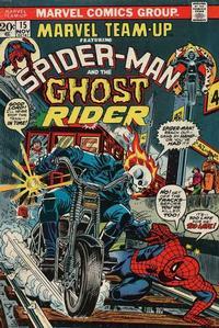 Cover Thumbnail for Marvel Team-Up (Marvel, 1972 series) #15