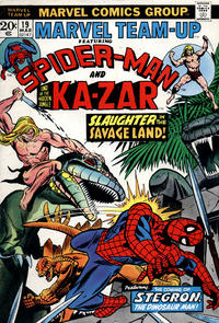 Cover Thumbnail for Marvel Team-Up (Marvel, 1972 series) #19