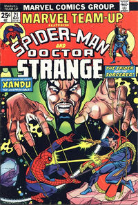 Cover Thumbnail for Marvel Team-Up (Marvel, 1972 series) #21