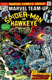 Cover Thumbnail for Marvel Team-Up (Marvel, 1972 series) #22