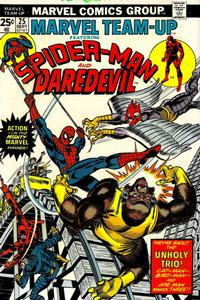 Cover Thumbnail for Marvel Team-Up (Marvel, 1972 series) #25