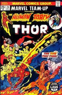 Cover Thumbnail for Marvel Team-Up (Marvel, 1972 series) #26 [Regular]