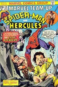 Cover Thumbnail for Marvel Team-Up (Marvel, 1972 series) #28 [Regular]