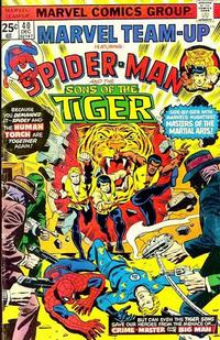 Cover Thumbnail for Marvel Team-Up (Marvel, 1972 series) #40