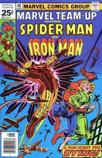Cover Thumbnail for Marvel Team-Up (Marvel, 1972 series) #48 [25c Variant]