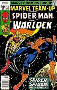 Cover Thumbnail for Marvel Team-Up (Marvel, 1972 series) #55 [Regular]
