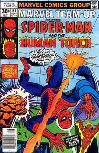 Cover Thumbnail for Marvel Team-Up (Marvel, 1972 series) #61 [30¢]