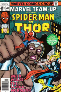 Cover Thumbnail for Marvel Team-Up (Marvel, 1972 series) #70