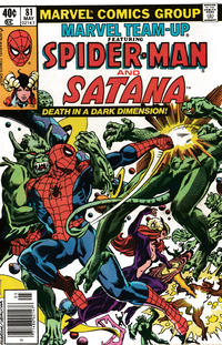 Cover Thumbnail for Marvel Team-Up (Marvel, 1972 series) #81 [Newsstand]