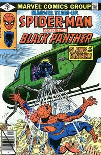Cover Thumbnail for Marvel Team-Up (Marvel, 1972 series) #87 [Direct Edition]