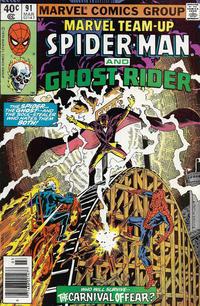 Cover Thumbnail for Marvel Team-Up (Marvel, 1972 series) #91
