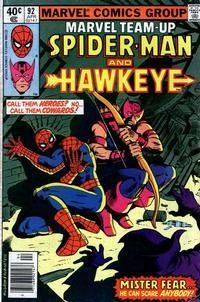 Cover Thumbnail for Marvel Team-Up (Marvel, 1972 series) #92