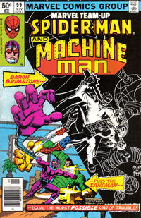 Cover Thumbnail for Marvel Team-Up (Marvel, 1972 series) #99 [Newsstand]