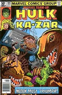 Cover Thumbnail for Marvel Team-Up (Marvel, 1972 series) #104 [Newsstand]
