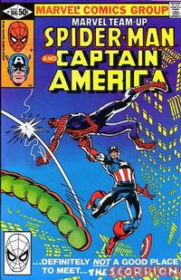 Cover Thumbnail for Marvel Team-Up (Marvel, 1972 series) #106 [Direct Edition]