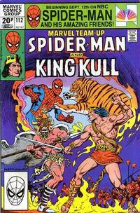 Cover Thumbnail for Marvel Team-Up (Marvel, 1972 series) #112 [British]