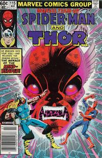 Cover Thumbnail for Marvel Team-Up (Marvel, 1972 series) #115 [Newsstand]
