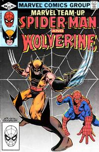 Cover for Marvel Team-Up (Marvel, 1972 series) #117 [Newsstand Edition]