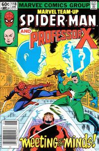 Cover Thumbnail for Marvel Team-Up (Marvel, 1972 series) #118 [Newsstand]