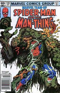 Cover for Marvel Team-Up (Marvel, 1972 series) #122 [Direct]
