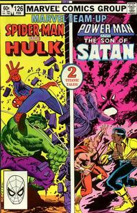 Cover Thumbnail for Marvel Team-Up (Marvel, 1972 series) #126 [Direct Edition]