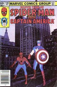 Cover Thumbnail for Marvel Team-Up (Marvel, 1972 series) #128 [Newsstand]