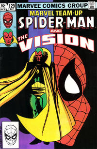 Cover Thumbnail for Marvel Team-Up (Marvel, 1972 series) #129 [Direct Edition]