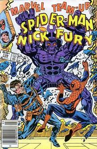 Cover Thumbnail for Marvel Team-Up (Marvel, 1972 series) #139 [Newsstand]