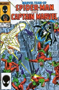 Cover Thumbnail for Marvel Team-Up (Marvel, 1972 series) #142 [Direct Edition]